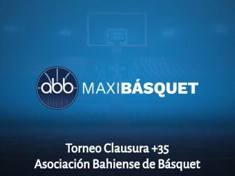 Cuadrangular de la Segunda Fase del Torneo Clausura +35 de la ABB: Fecha 1