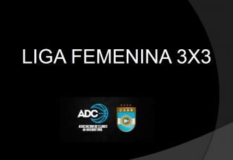 Lanzaron la Liga Femenina 3x3